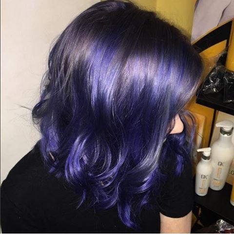 Short Hair Blue Hair